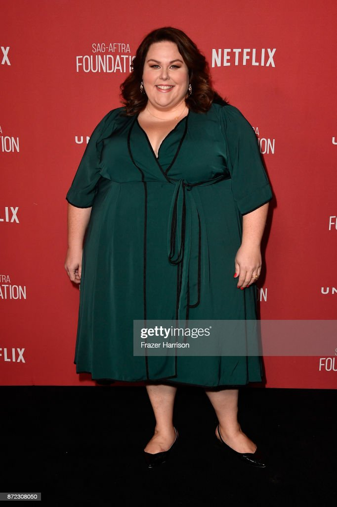 Chrissy Metz attends the SAG-AFTRA Foundation Patron of the Artists Awards 2017 at the Wallis Annenberg Center for the Performing Arts on November 9, 2017 in Beverly Hills, California.
