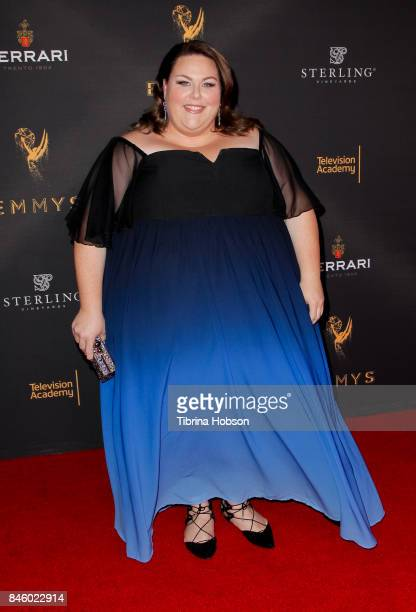 Chrissy Metz attends the Television Academy's Celebration of the nominees for outstanding witing at Saban Media Center on September 11 2017 in North...
