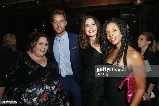 Chrissy Metz Justin Hartley Mandy Moore and Susan Kelechi Watson attend the Hollywood Foreign Press Association and InStyle celebrate the 75th...
