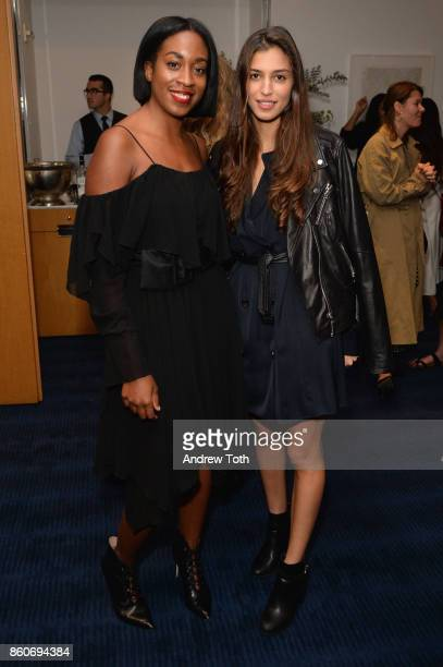 Chrissy Rutherford and Marina Testino attend as Harper's BAZAAR and THE OUTNETCOM Celebrate the opening of MoMA's Fashion Exhibit 'Is Fashion Modern'...