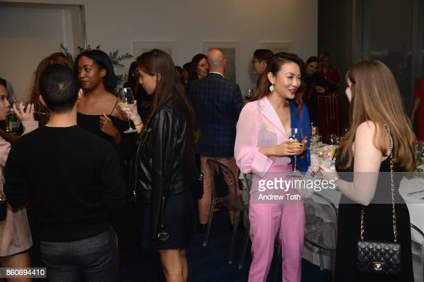Chrissy Rutherford Marina Testino Jessica Wang attend as Harper's BAZAAR and THE OUTNETCOM Celebrate the opening of MoMA's Fashion Exhibit 'Is...