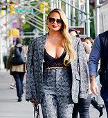 Celebrity Sightings In New York City - October 27, 2021