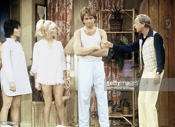 S COMPANY 'Chrissy's Hospitality' Season Four 10/25/79 Chrissy has a fall in the bathtub which sends her to the hospital Janet and Jack misunderstand...
