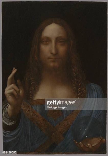 Christ as Salvator Mundi ca 1499 From a private collection