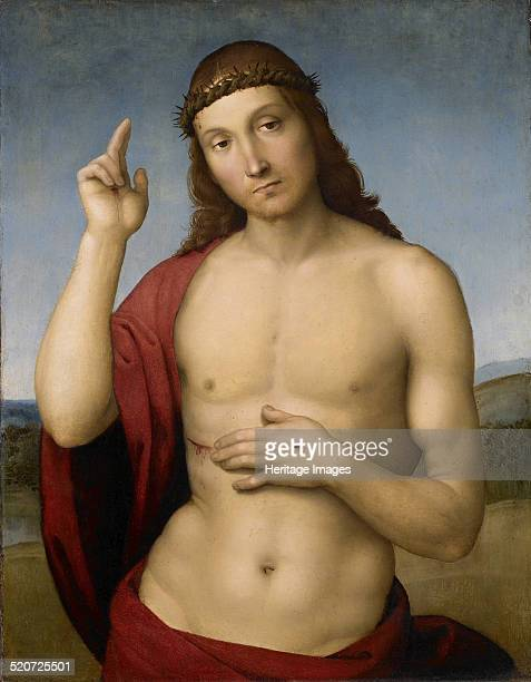 Christ Blessing Found in the collection of Pinacoteca Tosio Martinengo Brescia
