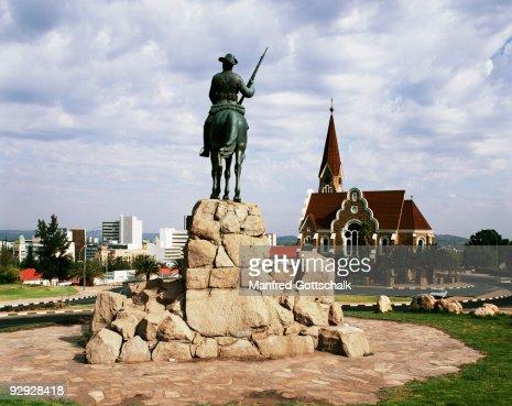 Christ Church and memorial at Windhoek , Namibia