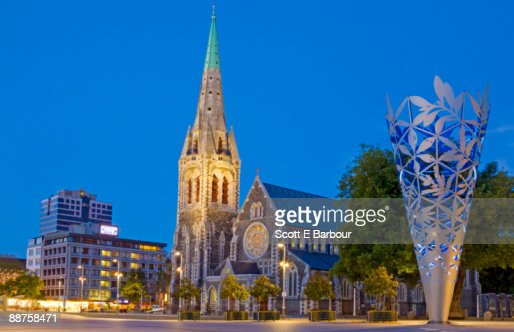 Christ church Cathedral in Cathedral Square