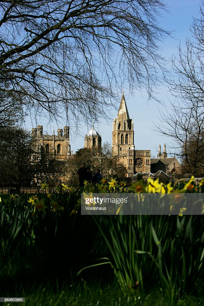 Christ Church College Oxford Affectionately named 'the city of dreaming spires' by nineteenth century English poet Matthew Arnold a reference to the...