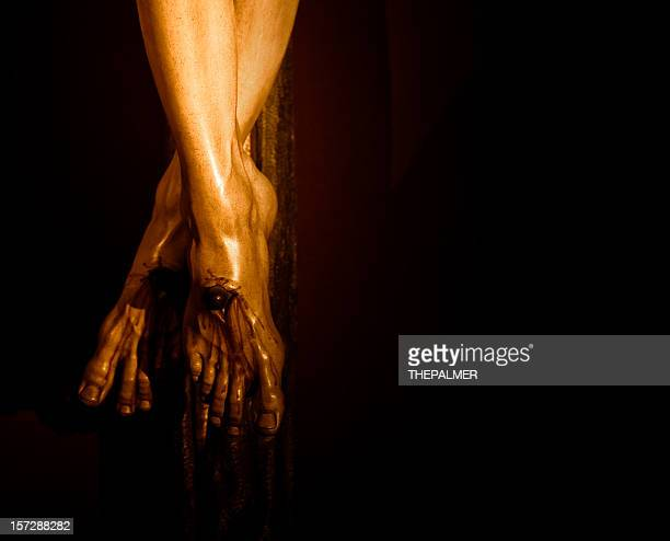 Christ Crucified Feet