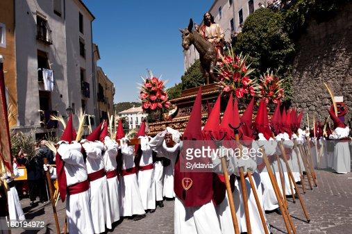 Christ. Easter Holy Week, Spain