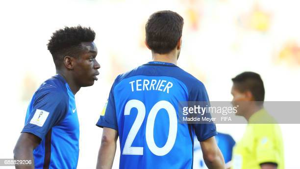 Christ Maouassa of France during the FIFA U20 World Cup Korea Republic 2017 group E match between France and Vietnam at Cheonan Baekseok Stadium on...
