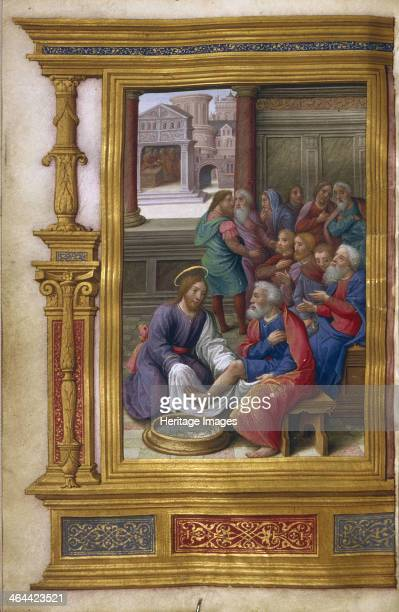 Christ Washing the Feet of the Apostles 15001550 Found in the collection of the The Huntington California