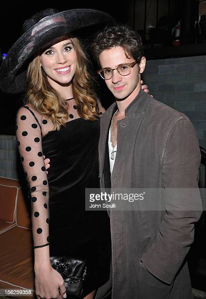 Christa B Allen and Connor Paolo attend Christa B Allen's 21st birthday with Juicy Couture benefiting The Mayor's Fund to Advance New York City...