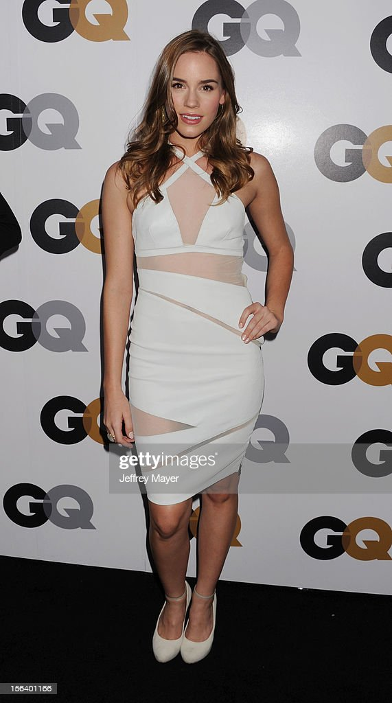 Christa B. Allen arrives at the GQ Men Of The Year Party at Chateau Marmont Hotel on November 13, 2012 in Los Angeles, California.