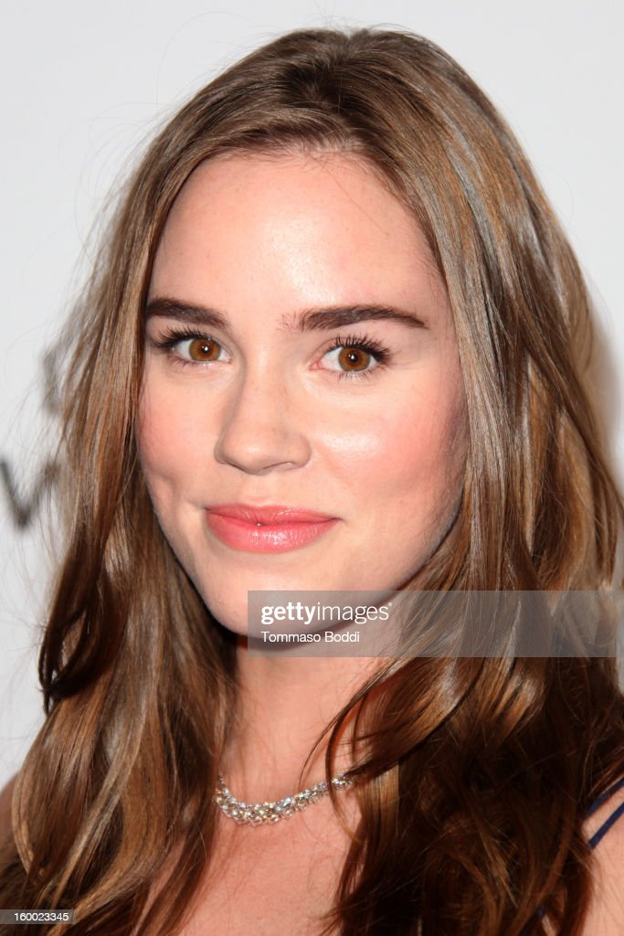 Christa B. Allen attends the ELLE Women in Television Celebration presented by Hearts on Fire Diamonds and Wella Professionals held at Soho House on January 24, 2013 in West Hollywood, California.