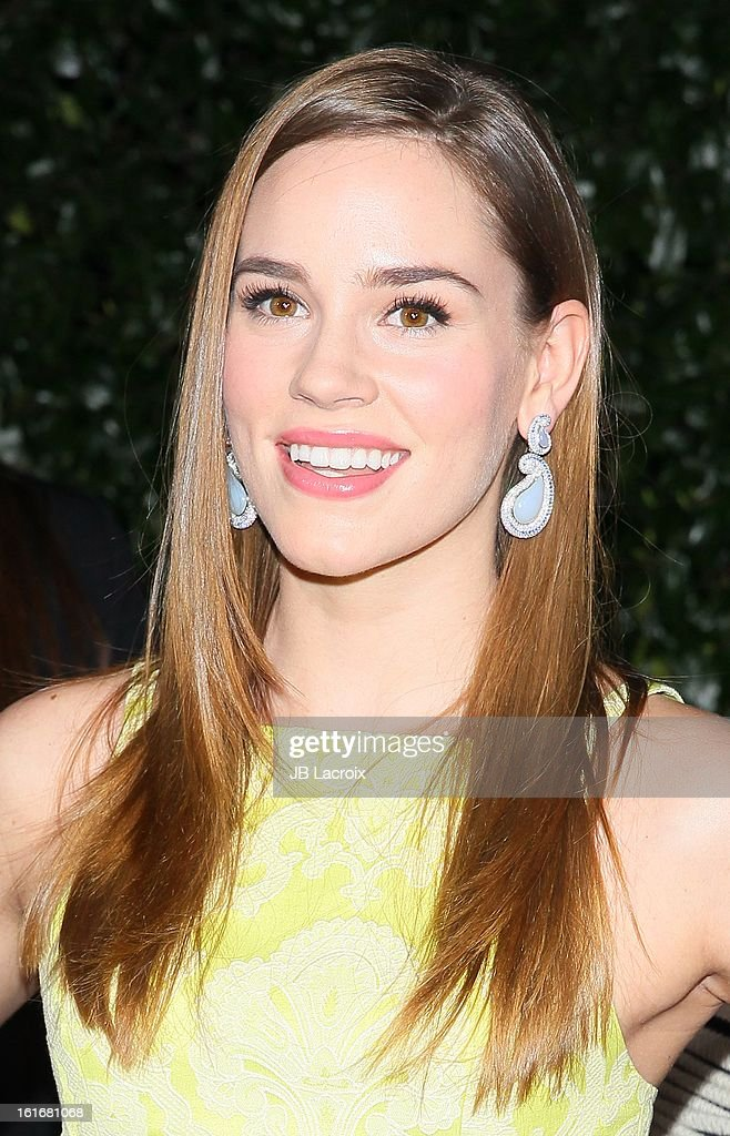 Christa B. Allen attends the Topshop Topman LA Opening Party held at Cecconi's Restaurant on February 13, 2013 in Los Angeles, California.