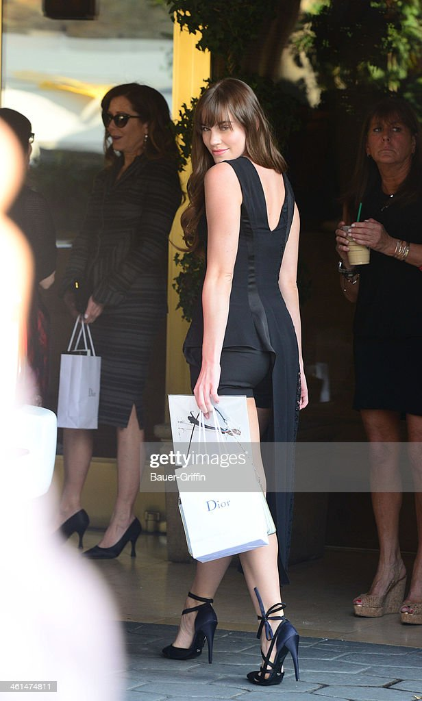 Christa B. Allen is seen on January 08, 2014 in Los Angeles, California.