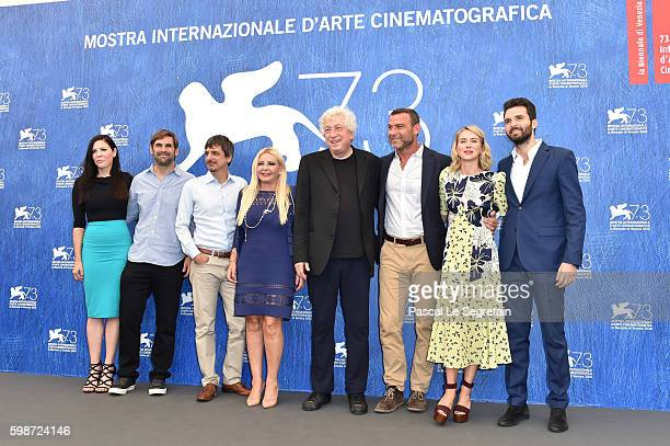 Christa Campbell guest director Philippe Falardeau producer Lady Monika Bacardi Avi Lerner Liev Schreiber Naomi Watts and Andrea Iervolino attend a...