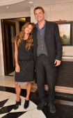 Christa d'Souza and Barnaby Thompson attend Ingenious Conversation dinner with Tamara Mellon at The Connaught in London on 10th October 2013