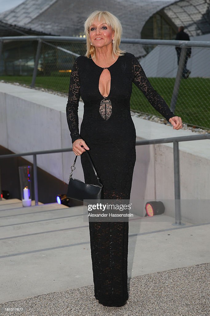 Christa Kinshofer attends the Laureus Sport for Good Night 2013 at Munich Olympiahalle on September 20, 2013 in Munich, Germany.