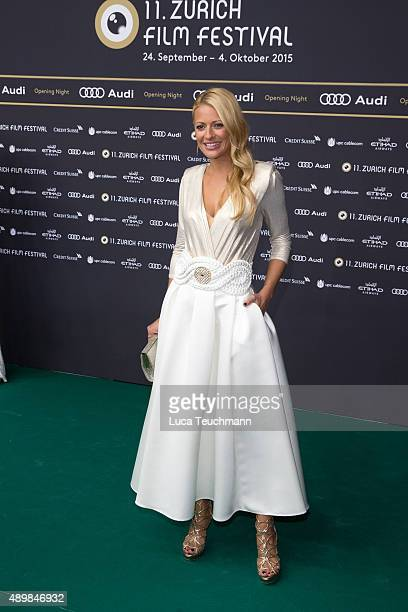 Christa Rigozzi attends the Zurich Film Festival on September 24 2015 in Zurich Switzerland The 11th Zurich Film Festival will take place from...