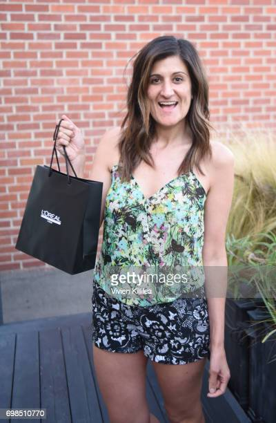 Christa Scherck attends L'Oreal Professionnel Hair Fashion Night at Ramirez Tran Salon on June 15 2017 in Beverly Hills California