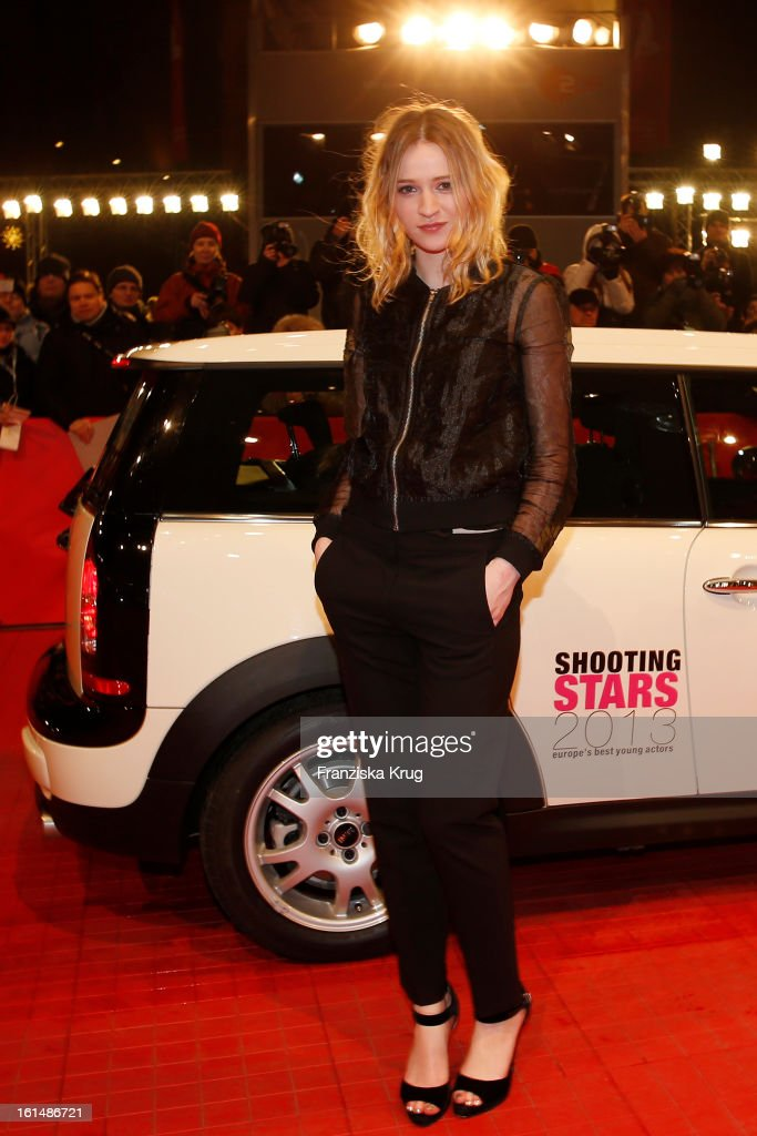 Christa Theret attends 'Mini Shooting Stars' - BMW at the 63rd Berlinale International Film Festival at the Berlinale-Palast on February 11, 2013 in Berlin, Germany.