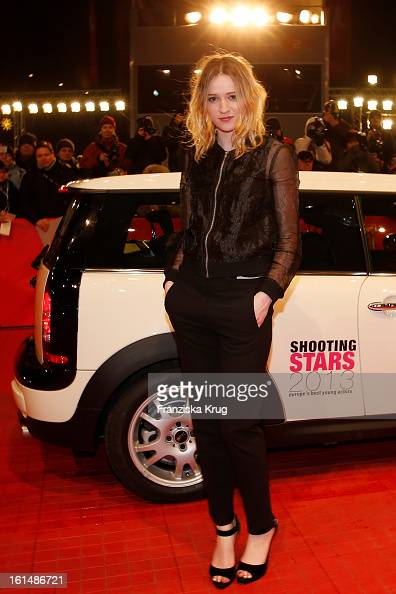 Christa Theret attends 'Mini Shooting Stars' BMW at the 63rd Berlinale International Film Festival at the BerlinalePalast on February 11 2013 in...