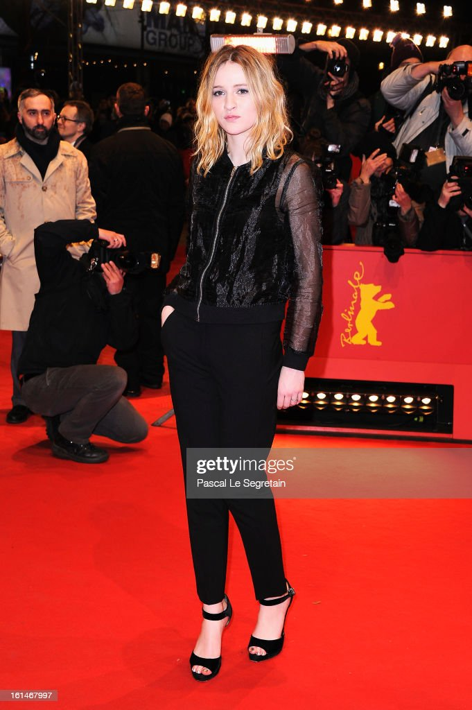 Christa Theret attends the 'Before Midnight' Premiere during the 63rd Berlinale International Film Festival at the Berlinale Palast on February 11, 2013 in Berlin, Germany.
