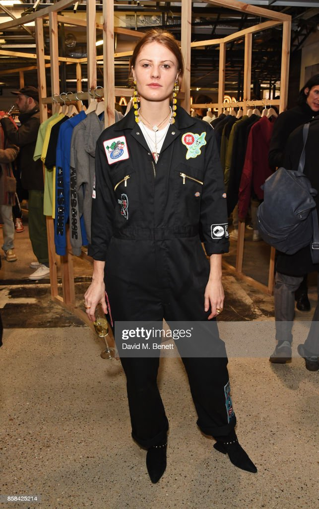 Christabel MacGreevy attends the Dover Street Market open house on October 6, 2017 in London, England.