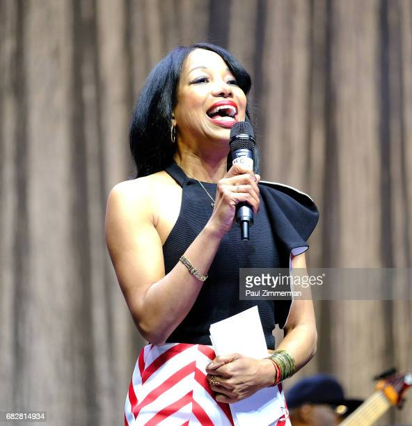 Christal Young speaks onstage at the 35th Anniversary Mother's Day Weekend Gospelfest 2017 at Prudential Center on May 13 2017 in Newark New Jersey