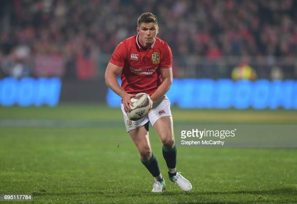 Christchurch New Zealand 10 June 2017 Owen Farrell of the British Irish Lions during the match between Crusaders and the British Irish Lions at AMI...