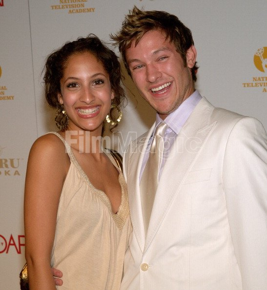 Christel Khalil And Michael Graziadei During Soapnet National Tv Filmmagic 111220420