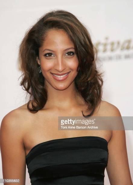 Christel Khalil arrives at the 48th Monte Carlo Television Festival opening Ceremony on June 8 2008 in MonteCarlo Monaco