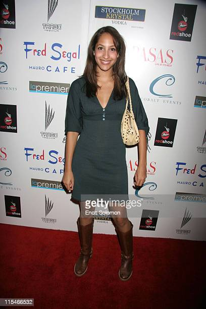 Christel Khalil during Life at Its Best Celebrates Two Years of Success December 7 2006 at Fred Segal's Mauro Cafe in Los Angeles California United...