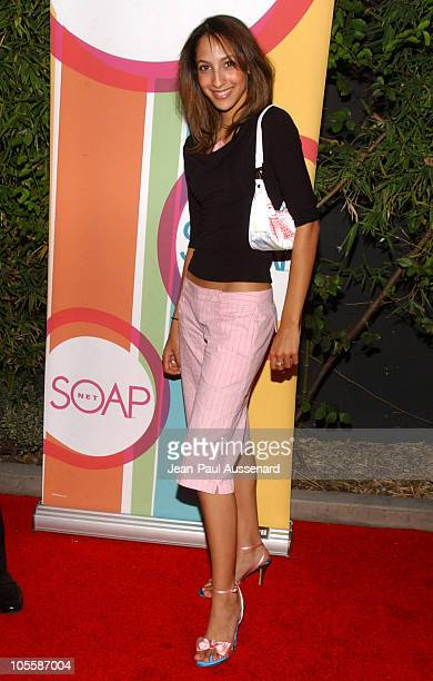 Christel Khalil during SOAPnet Fall 2004 Launch Party at Falcon in Hollywood California United States