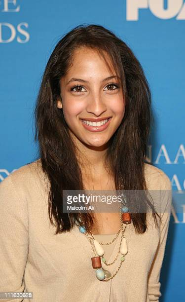 Christel Khalil during The 37th Annual NAACP Image Awards Nominee Luncheon Arrivals at Beverly Hills Hilton Hotel in Beverly Hills California United...