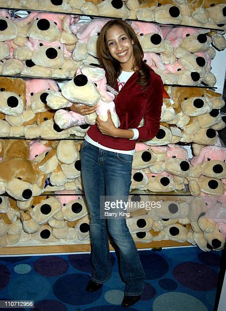 Christel Khalil during 'The Young The Restless' Stars Make an Appearance at Toys For Tots Toy Drive at Fao Schwartz at The Grove in Los Angeles...