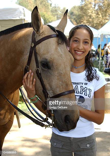 Christel Khalil of 'Young The Restless' during Best Friends Animal Sanctuary's Pet Adoption Festival at Johnny Carson Park in Burbank California...