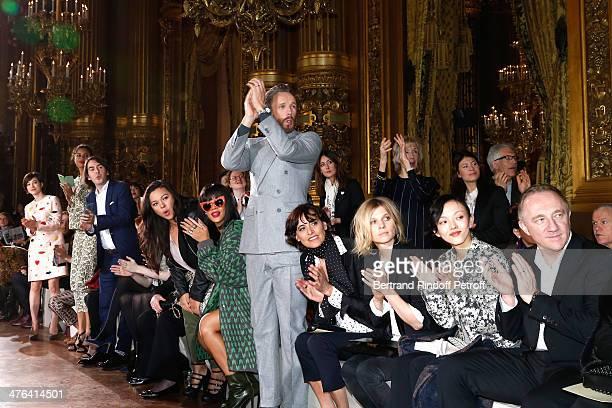 Christel Takigawa Tao Okamoto Dhani Harrison Solveig Harrison Karen Elson Marianne Faithfull Guest Rihanna Stella McCartney husband Alasdhair Willis...