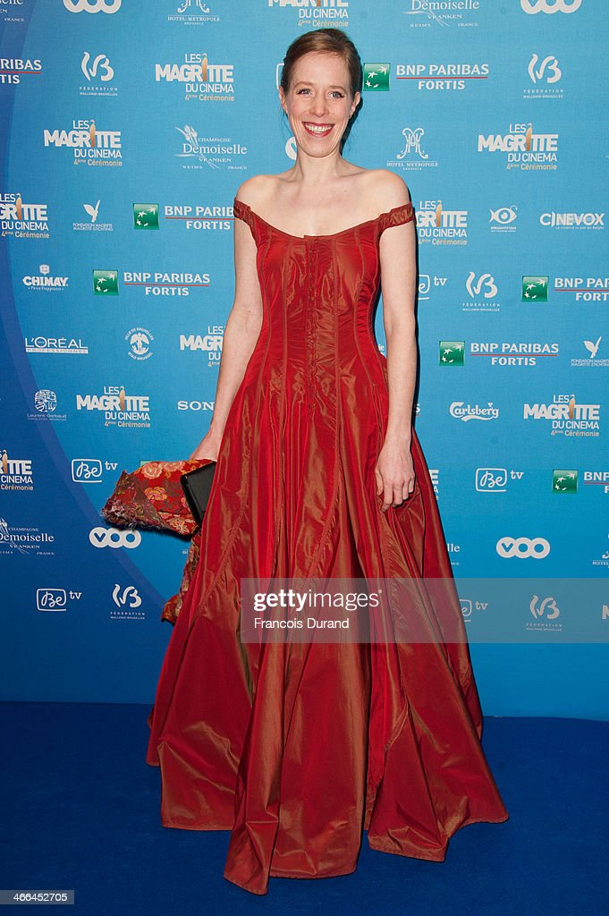 Christelle Cornil attends 'Les Magritte Du Cinema 2014' at Square Brussels on February 1, 2014 in Brussel, Belgium.