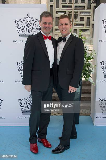 Christer Bjorkman and Martin Kagemark attend Polar Music Prize at Stockholm Concert Hall on June 9 2015 in Stockholm Sweden