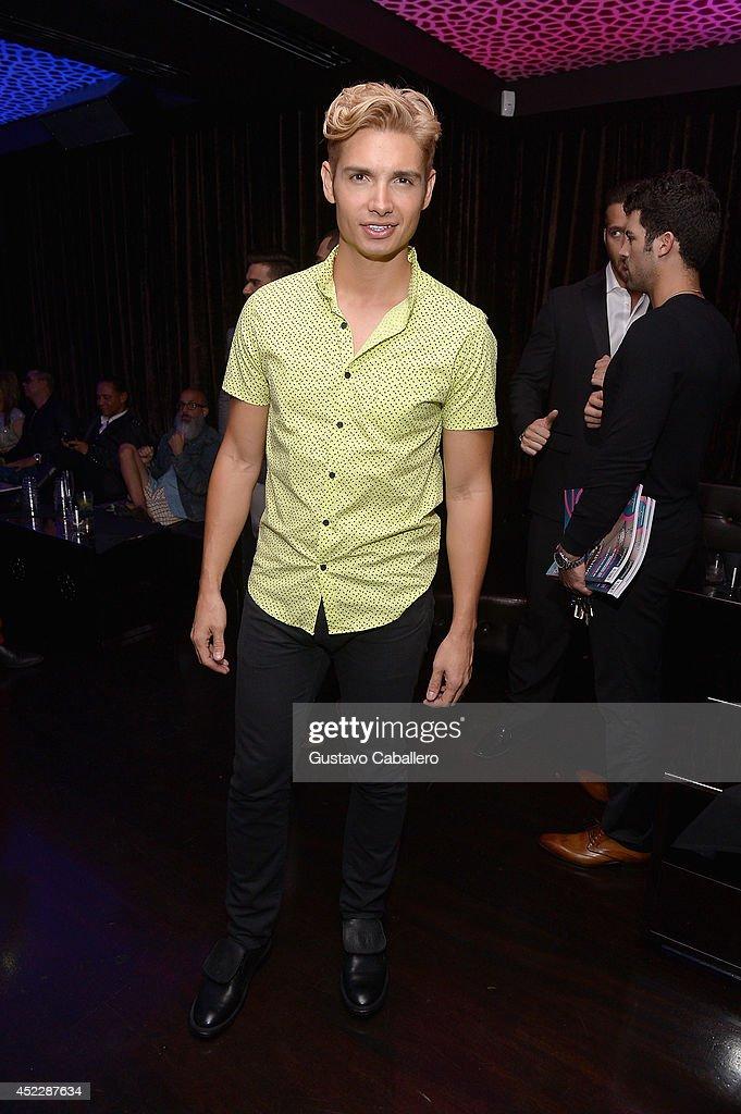 Christian Acosta attends the Cavalli Miami on July 16, 2014 in Miami Beach, Florida.