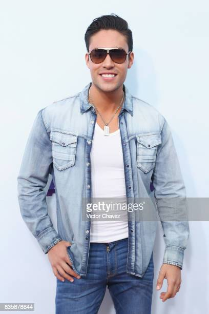 Christian Almeyda attends the Nickelodeon Kids' Choice Awards Mexico 2017 at Auditorio Nacional on August 19 2017 in Mexico City Mexico