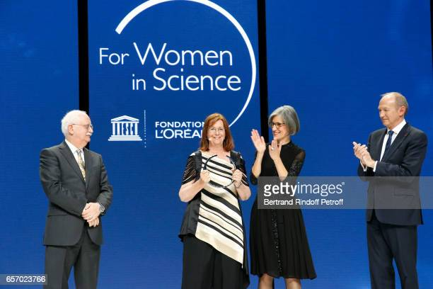 Christian Amatore Laureate for Latin America Professor Maria Teresa Ruiz Assistant DirectorGeneral for Natural Sciences Doctor Flavia Schlegl and...