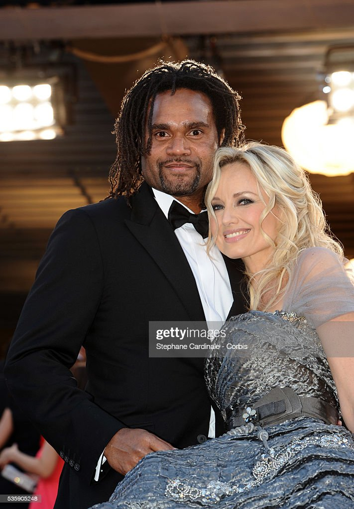 Christian and Adriana Karembeu at the Premiere for 'Biutiful' during the 63rd Cannes International Film Festival.