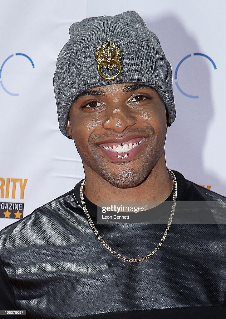 Christian arrived at LAUSD's Beyond The Bell Branch And Nick Cannons Celebrity High Present 'Spotlight On Success' at Paramount Studios on May 11, 2013 in Hollywood, California.