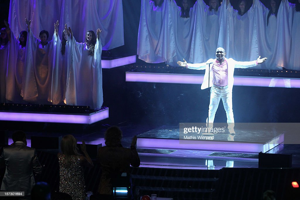 Christian Bakotessa attends the First Live Show of 'Das Supertalent' on December 1, 2012 in Cologne, Germany.