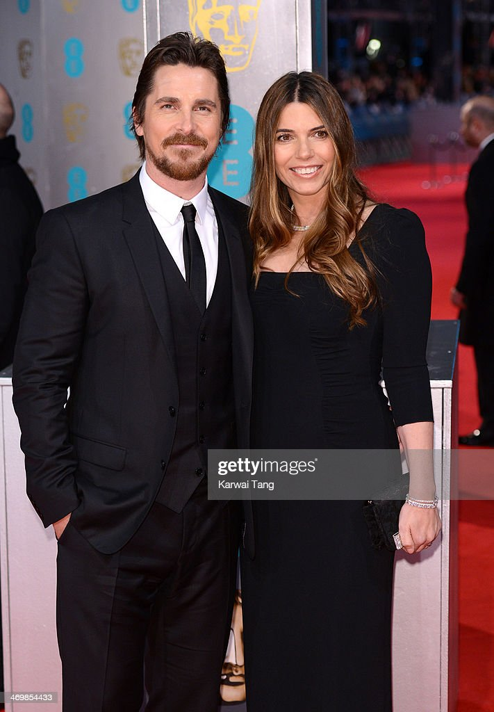 <a gi-track='captionPersonalityLinkClicked' href=/galleries/search?phrase=Christian+Bale&family=editorial&specificpeople=239518 ng-click='$event.stopPropagation()'>Christian Bale</a> and Sibi Blazic attend the EE British Academy Film Awards 2014 at The Royal Opera House on February 16, 2014 in London, England.