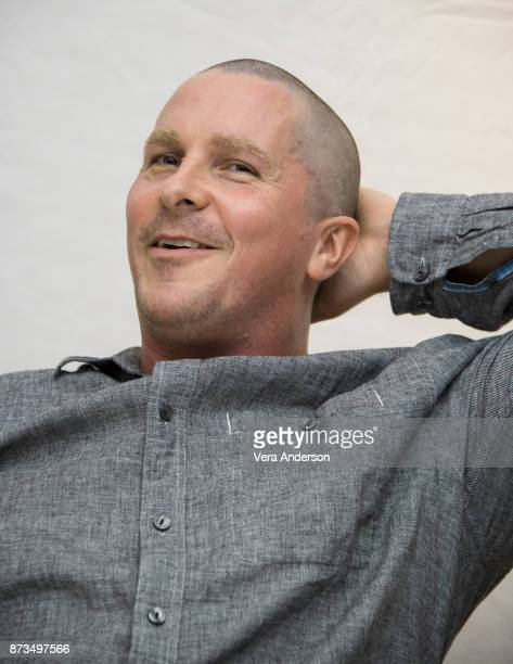 Christian Bale at the 'Hostiles' Press Conference at the Four Seasons Hotel on November 12 2017 in Beverly Hills California